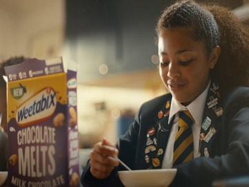 Weetabix Chocolate Melts Advert Actress