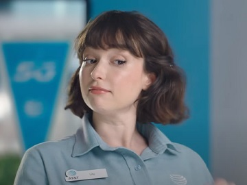 AT&T Lily Drawing on Whiteboard Commercial - Feat. Actress Milana Vayntrub