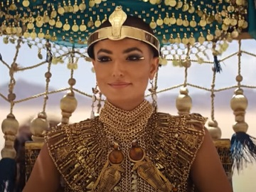 Amazon Prime Cleopatra Commercial