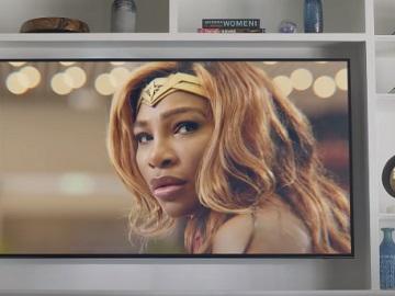 DIRECTV STREAM Serena Williams as Wonder Woman Commercial