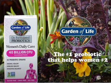 Garden of Life Dr Formulated Women's Probiotics Commercial
