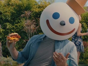 Jack in the Box BBQ Bacon Double Cheeseburger Combo Commercial - Your Face Is Good