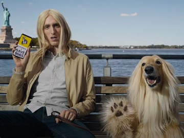 Liberty Mutual Guy Resembling His Dog Commercial - Feat. Afghan Hound Breed