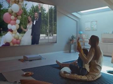 Samsung Premiere 4K Smart Laser Projector Commercial