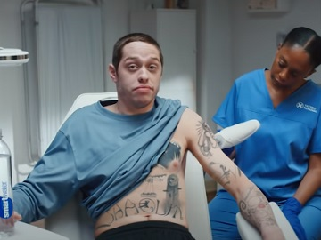 Smartwater Pete Davidson Tattoos Commercial