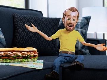 Subway Turkey Footlong Bob's Discount Furniture Commercial - Feat. Little Bob