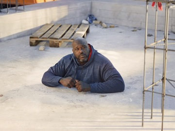 The General Shaquille O'Neal Buried in Concrete Commercial