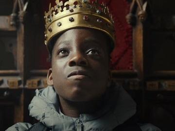 Very.co.uk Back to School Advert Kid On Throne Advert