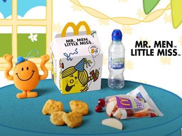 McDonald's Happy Meal Mr. Men & Little Miss Advert
