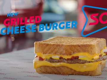 Sonic Grilled Cheese Burger Commercial
