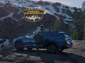 2022 Subaru Outback Wilderness Commercial - Friends Driving up a Mountain