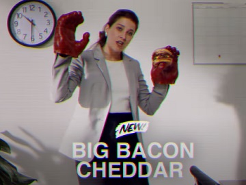 Wendy's Big Bacon Cheddar Tammy Craave Commercial