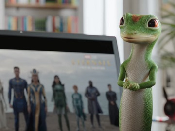 GEICO Eternals Movie Commercial