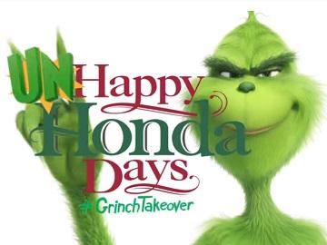 Happy Auto Sales >> Happy Honda Days Sales Event The Grinch Commercial