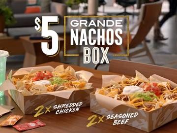 taco bell nacho box
